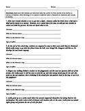 Conflict Worksheet