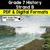 Grade 7 History Conflict and Challenges in Canada 1800-1850 Strand B
