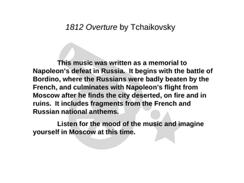 Conflict and Music of the 20th Century