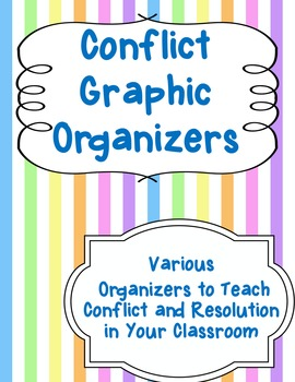 Conflict and Resolution Graphic Organizers