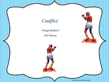 """Conflict and Vocabulary in """"Amigo Brothers"""""""