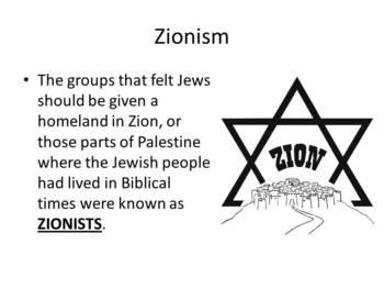 Conflict in Israel - Presentation, Activator, Graphic Organizer, Summarizer