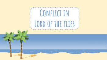 Conflict in Lord of the Flies