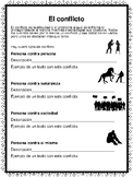 Conflict in Spanish for any fiction book (el conflicto)