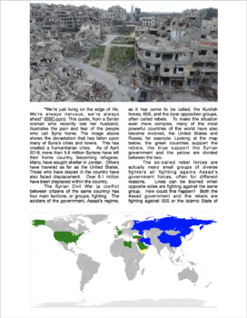 Adventures in Nonfiction: Conflict in Syria