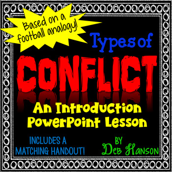 Conflict in a Story Plot PowerPoint