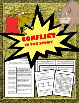 Conflict in the Story:  Internal, External, Character vs.