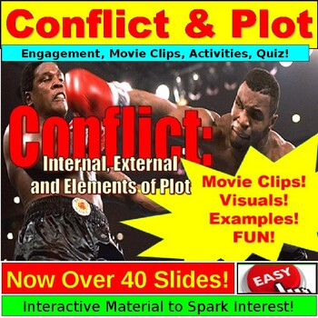 Conflict: internal, External Lesson Plan PowerPoint