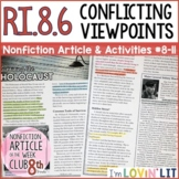 Conflicting Viewpoints /Point of View RI.8.6   Holocaust Survivors Article #8-11