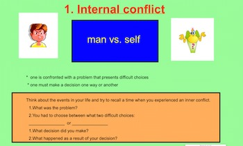 Conflicts in Stories - Different Types