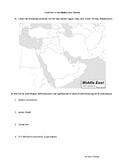 Conflicts in the Middle East Review
