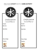 Confucianism Fast Fact Card
