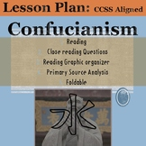 Confucianism: Reading, DBQ, Foldable, and Worksheet!