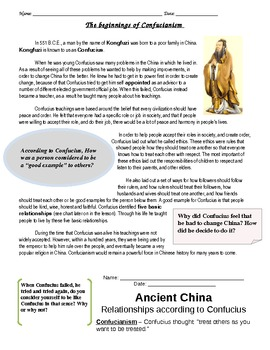 Confucianism in Ancient China