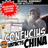 Confucius Impacts China: Writing, Literacy, & Fun Instagram Activity