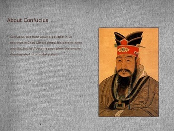 Confucius China Leader