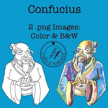 Confucius Clip Art