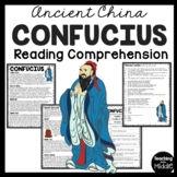 Confucius Informational Text Reading Comprehension Ancient China Confucianism