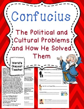 Confucius: Political and Social Problems and How He Solved Them