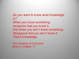 Confucius Powerpoint