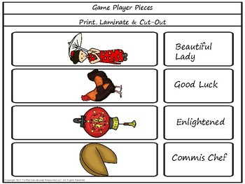Confucius Says Learning Game Board