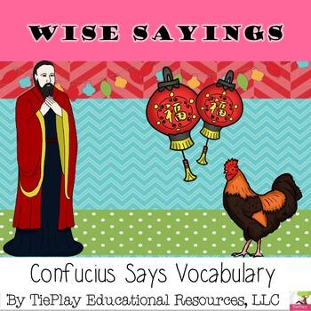 Confucius Says Vocabulary
