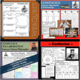 CONFUCIUS BUNDLE Research Project Biography Graphic Organizer