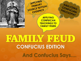 Confucius & The 5 Relationships: Family Feud Edition with Handouts and Rubric
