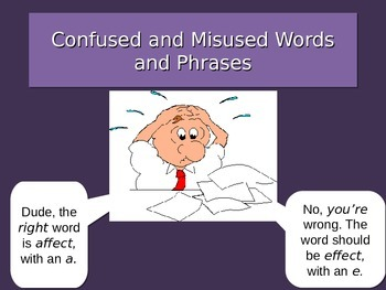Confused Words PPT