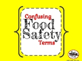 Confusing Food Safety Terms