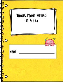 Confusing Verbs:  Lie and Lay {Google and OneDrive Resource}