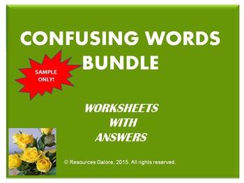 Confusing Words Bundle