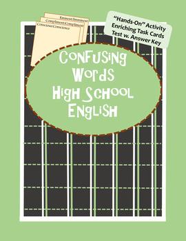 Confusing Words High School