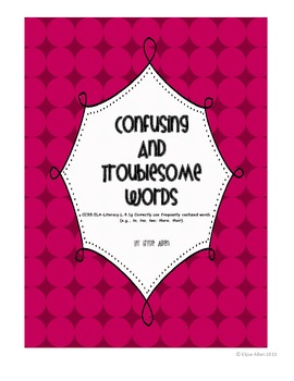 Confusing and Troublesome Words