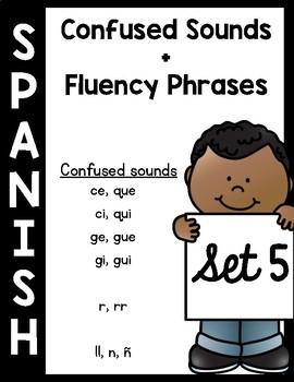 Confusing Sounds in Spanish Booklet