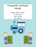 Confusion Locomotion- Frequently Confused Words Pack (Common Core Aligned)