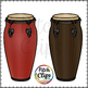 Conga Drums (Clip art) - Commercial Use, SMART OK!
