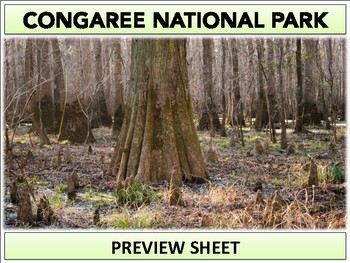 Congaree National Park : Project Materials