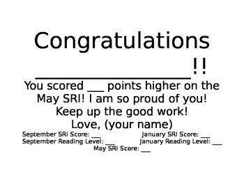 Congrats certificate