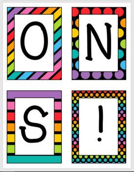 Congratulations Banner (Bright & Bold Patterns)