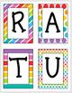Congratulations Banner (Rainbow Colors)