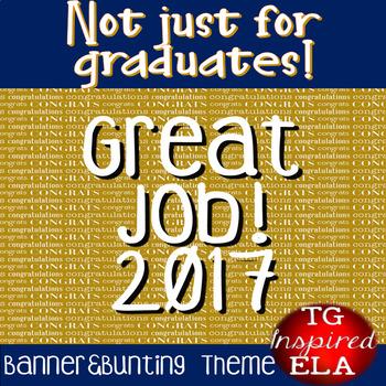 Congratulation Cards:Banners&Bunting: Graduation, Teacher