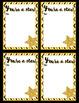 Congratulation Cards:GoldChevron-- Graduation, Teacher Appreciation, End-of-Year