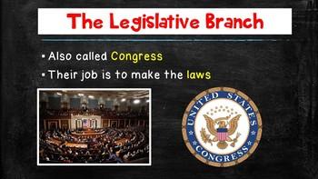 Congress 101 - Cornell Cloze Notes and Powerpoint- Legislative Branch Basics