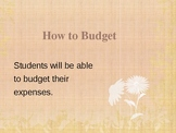 Congress Budgeting PowerPoint