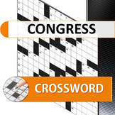 Congress Crossword Puzzle for AP Government students