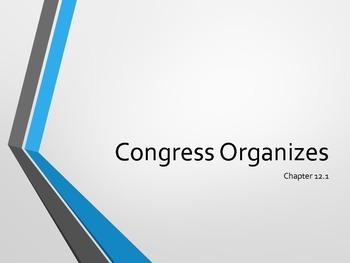 Congress Organizes