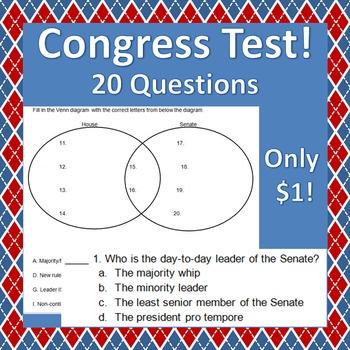 Congress Test - 20 Items!