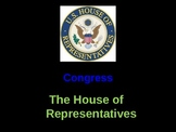 Congress; The House of Representatives & The Census