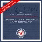 AP U.S. Government & Politics Legislative Branch PPT | AP